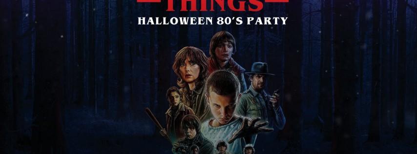 Stranger Things Halloween at Rosemont