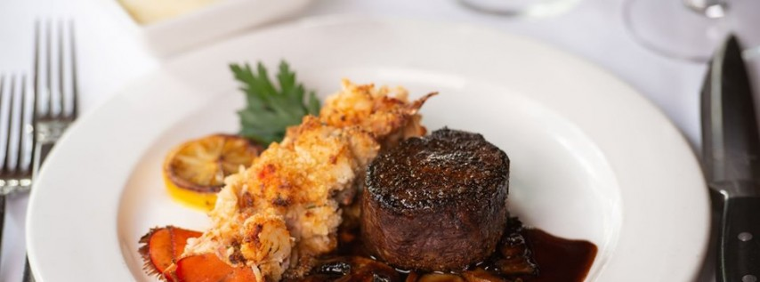 $49 Filet & Lobster Thermidor