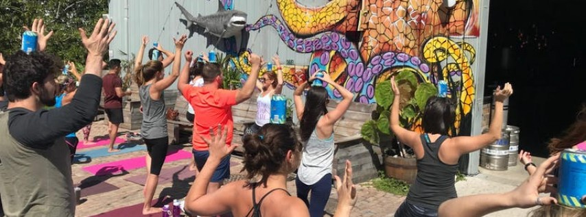 Ales & Asanas - Yoga at LauderAle Brewery October 20