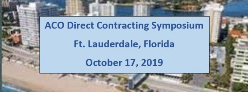 ACO Direct Contracting Symposium