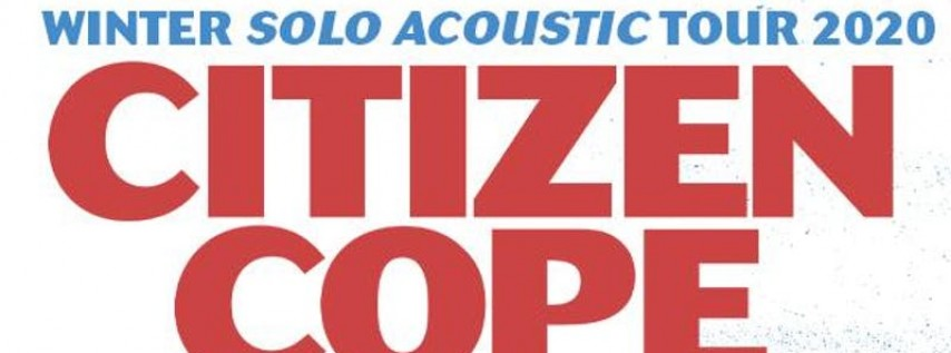 Citizen Cope at Culture Room (February 1, 2020)