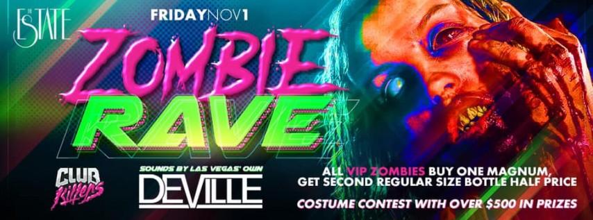Halloween Night 2: Zombie Rave w/ Deville