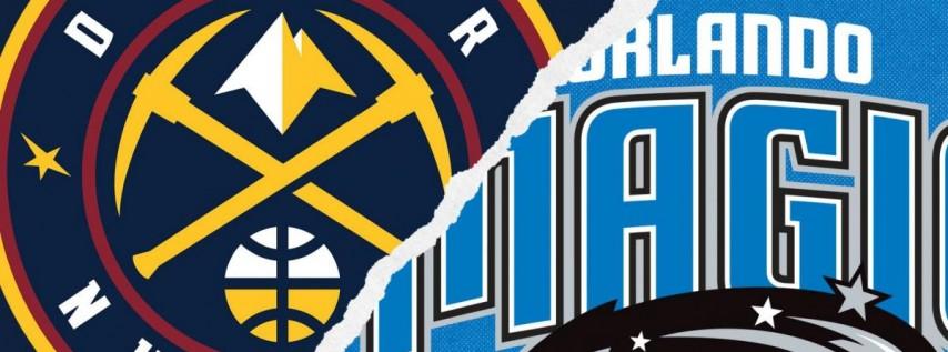 Orlando Magic vs. Denver Nuggets @ Amway Center Orlando