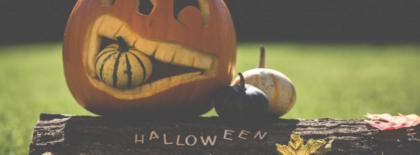 Kids Halloween Craft + Snack