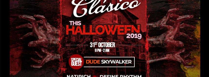 HALLOWEEN 2019 AT CLASICO Cafe Bar