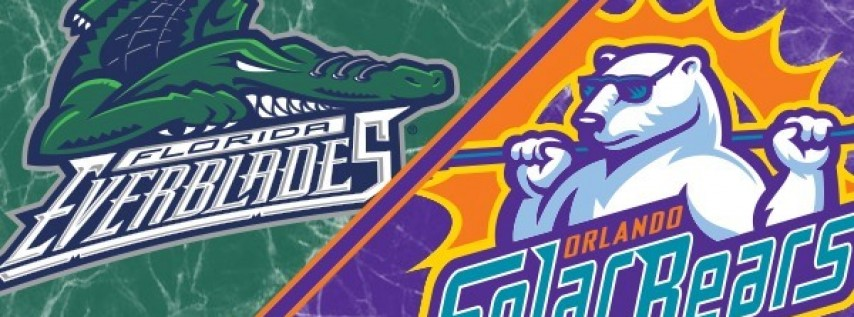 Orlando Solar Bears vs. Florida Everblades @ Amway Center Orlando