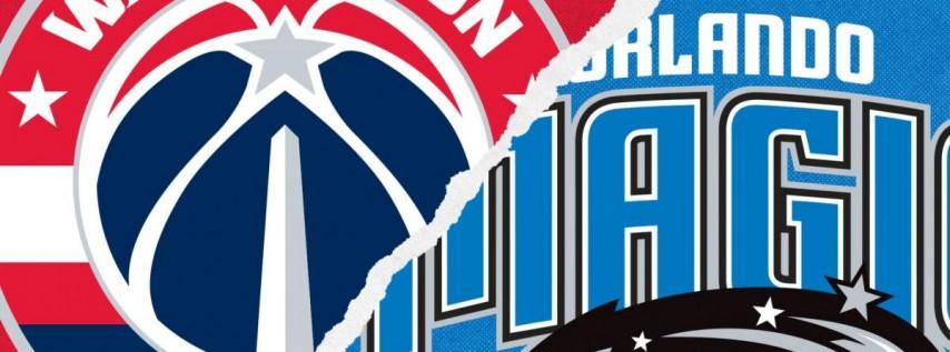 Orlando Magic vs. Washington Wizards @ Amway Center Orlando