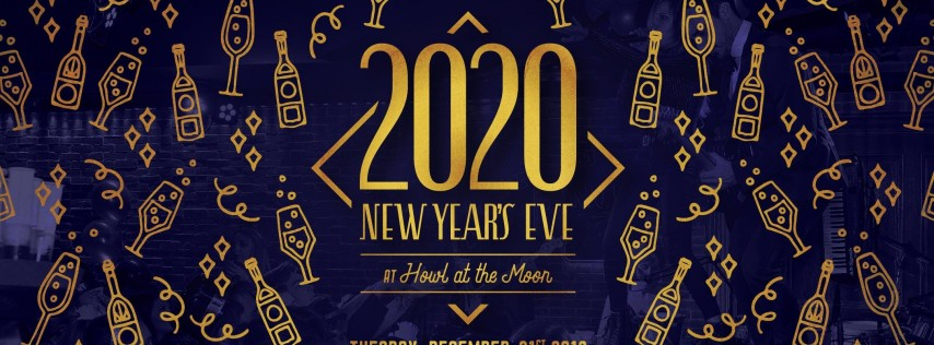 New Year's Eve 2020 at Howl at the Moon Chicago!