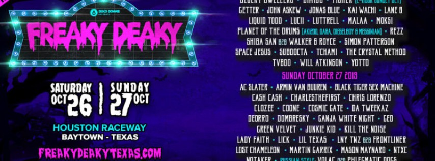 Freaky Deaky Texas 2019
