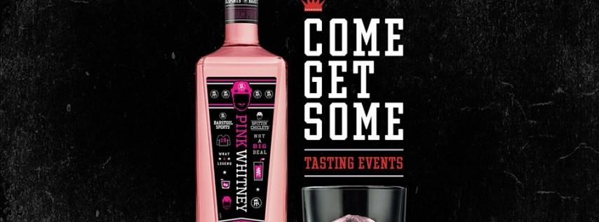 New Amsterdam Pink Whitney Tasting