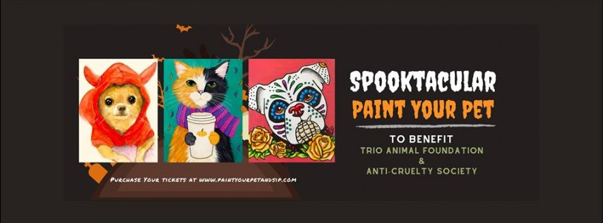 Spoooky Paint Your Pet & Sip with The Royal Grocer