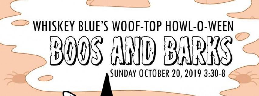 Whiskey Blue Howl-O-Ween Boos & Barks!