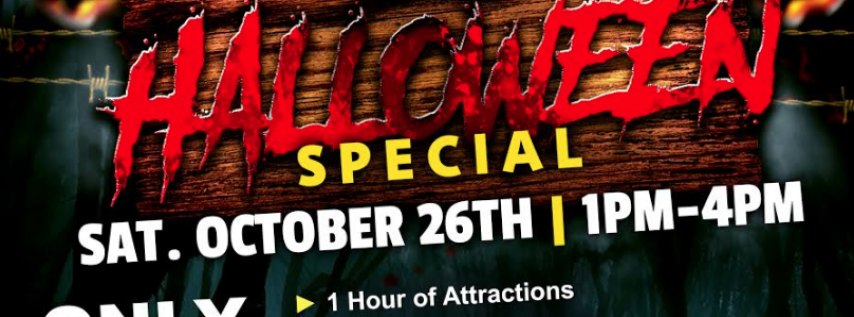 Halloween Special at Airheads Trampoline Arena!