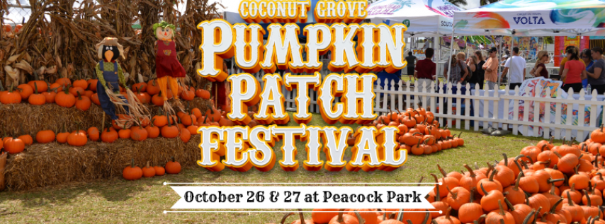 Coconut Grove Pumpkin Patch Festival 2019