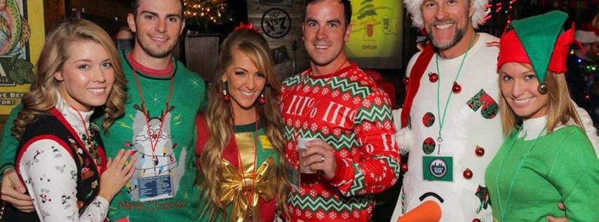 4th Annual Ugly Christmas Sweater Pub Crawl - Downtown - Dec 7th