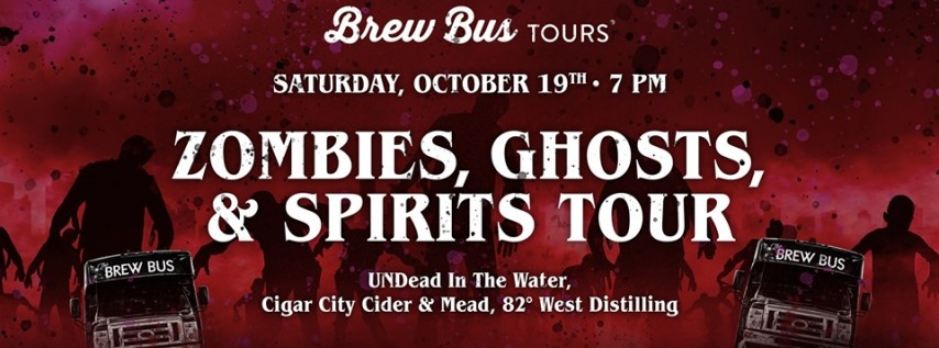 Zombies, Ghosts and Spirits Tour