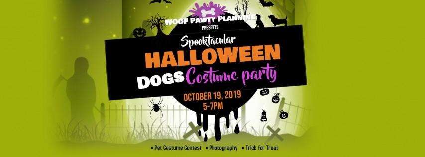 Halloween Yappy Hour & Costume Pawty!