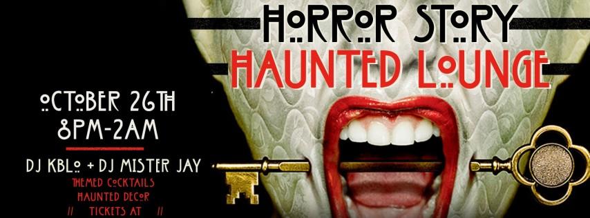 Barbarossa Horror Story: Haunted Lounge | Halloween Weekend