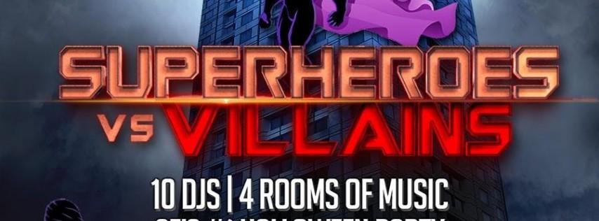 W SF Hotel Halloween - Superheroes vs. Villains