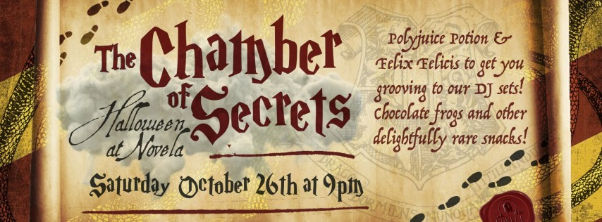 The Chamber of Secrets: Halloween at Novela