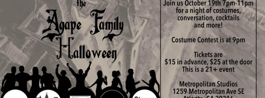 The Agape Family Halloween Party