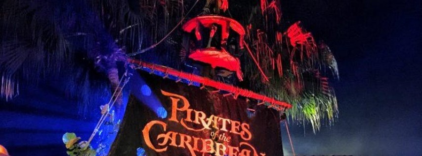 """Pirates Of The Caribbean"" •• Halloween"
