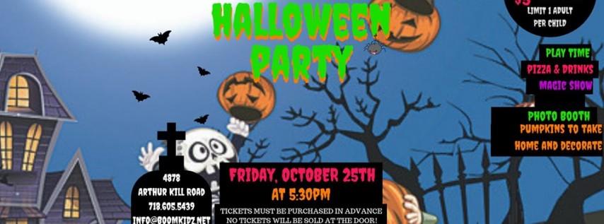 BoomKidz Annual Halloween Party