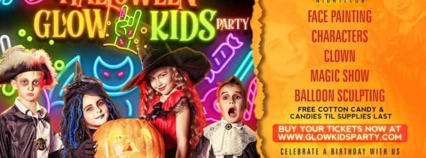 Halloween Disco Glow Kids Party