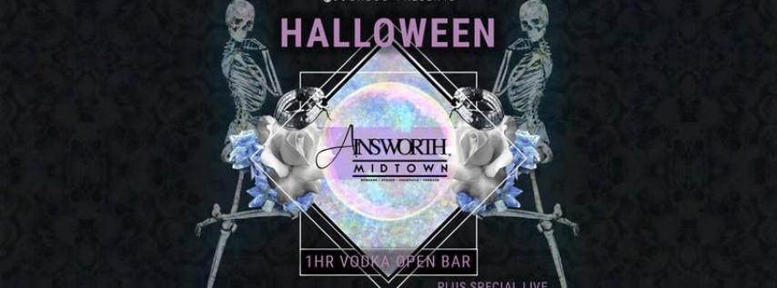 Joonbug.com Presents Ainsworth Midtown Halloween Party 10/26