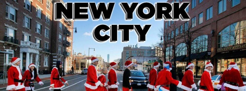 New York City Santa Crawl 2019