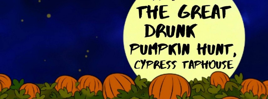 It's the Great Drunk Pumpkin Hunt