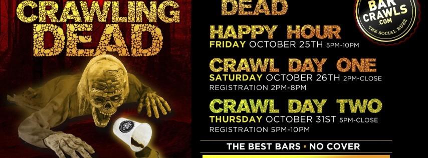 Hoboken Haunted Tour Bar Crawl 10/26