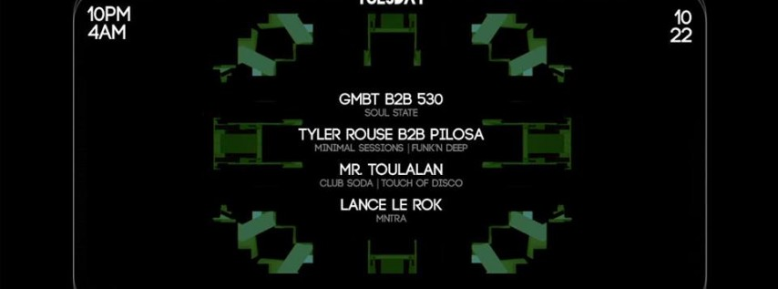 Techno Taco Tuesday Soul State Takeover
