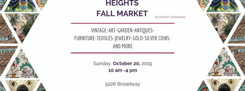 Alamo Heights Fall Market