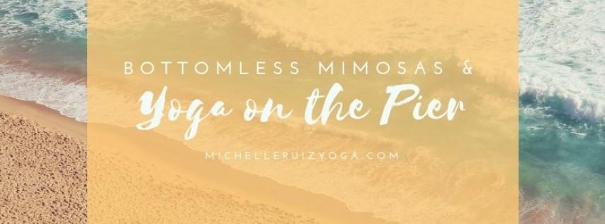 Yoga & Mimosas on The Pier