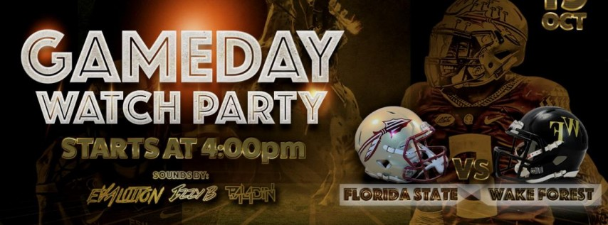 GameDay Watch Party - FSU vs Wake Forest
