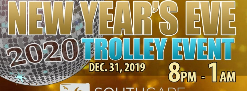 New Year's Eve Trolley Event, Fort Myers FL - Dec 31, 2019 - 8:00 PM
