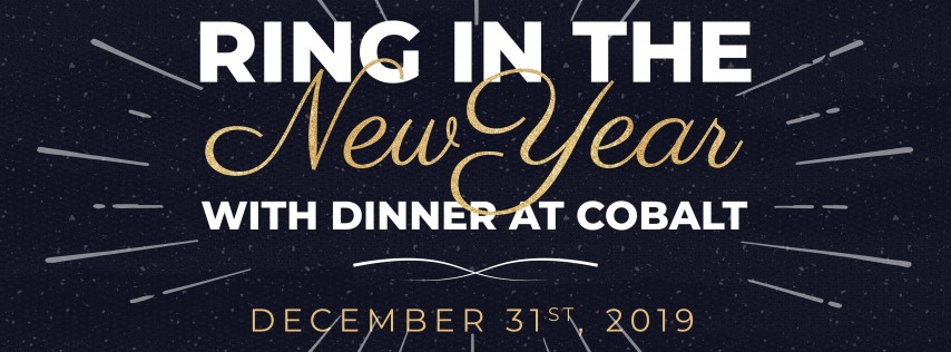 New Year's Eve @ Cobalt Bar!