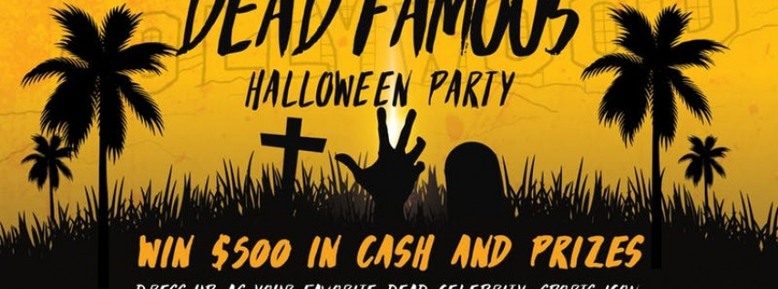Dead Famous Halloween Party at Brazwell's Pub