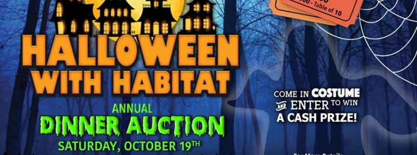 Halloween With Habitat: 26th Annual Dinner Auction
