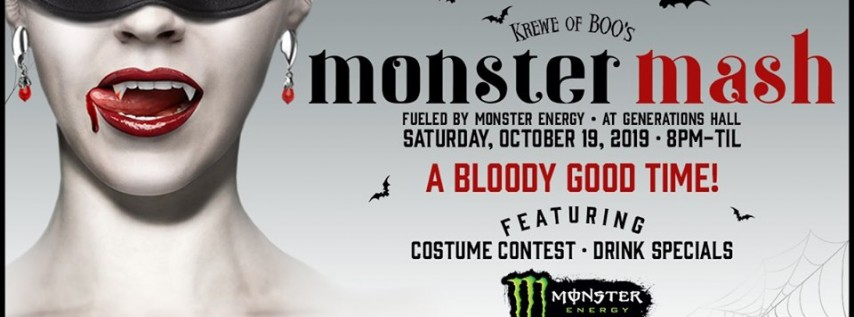 Krewe of Boo! Monster Mash - Halloween Parade After-Party