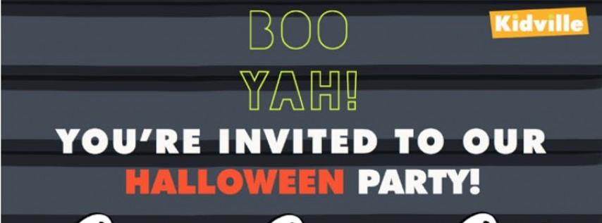 Kidville Hoboken Indoor Halloween Party!
