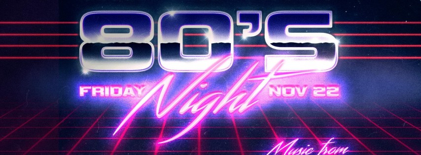 80s Night - The Ultimate 80s Party