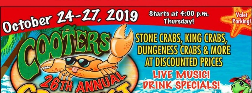 Cooters 26th Annual Crabfest
