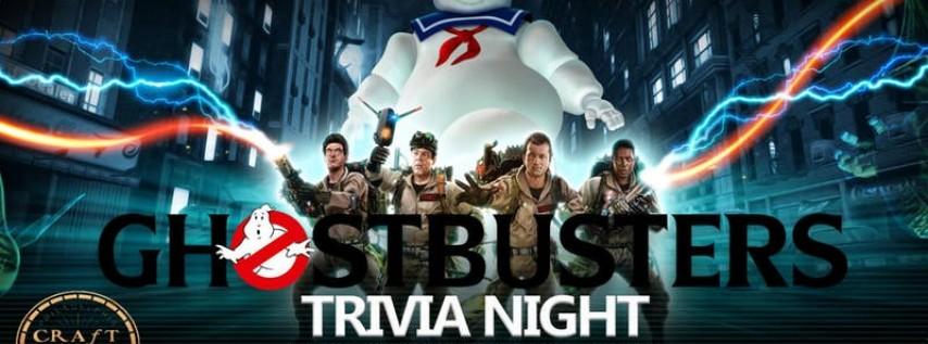 Ghostbusters Trivia at Craft Hall - Wednesday Trivia Night (Philadelphia. P...