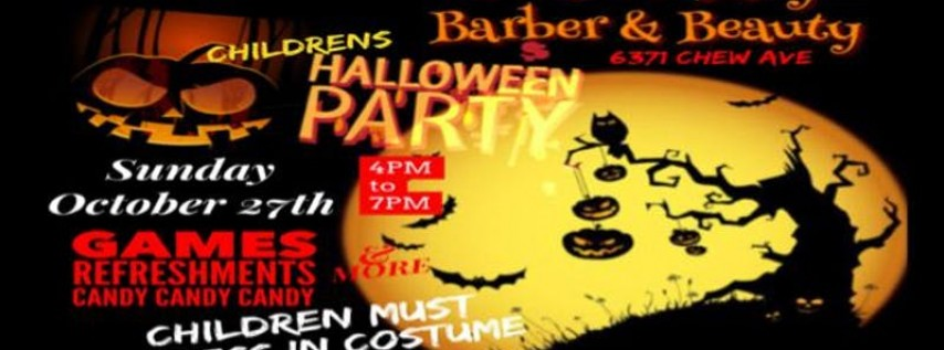 Ultimate Lifestyle Barber & Beauty Children Halloween Party