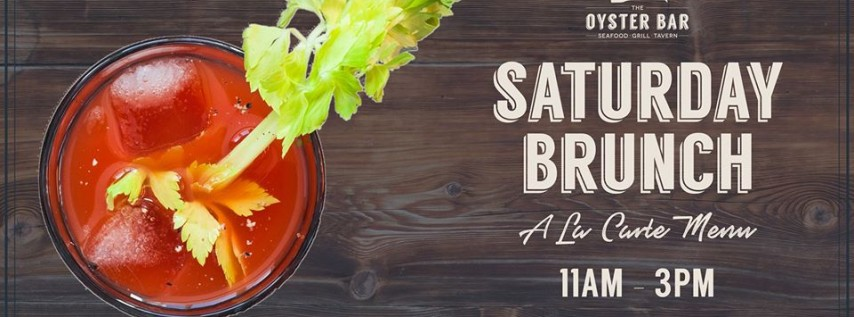 Saturday Brunch | Bottomless Bubbles & Bloodies