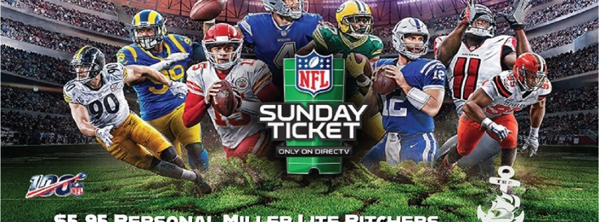 NFL Sunday Ticket at The Galley!