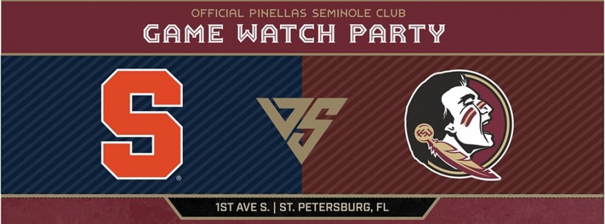 FSU vs Syracuse Official Game Watch Party!
