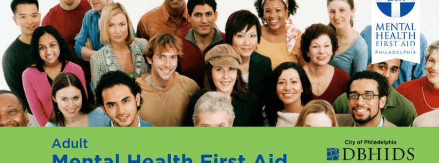 Adult MHFA with CEU's at BHTEN (Dec. 5th & 6th)